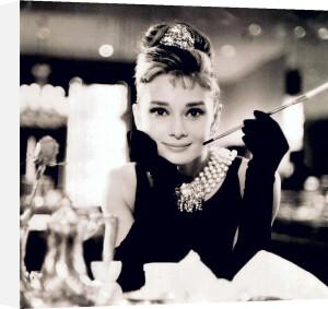 Audrey Hepburn (B&W) by Anonymous