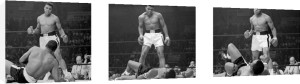 Muhammad Ali (Liston Triptych) by Celebrity Image