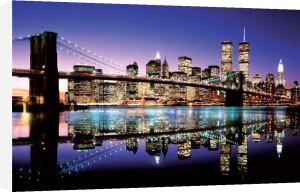 Brooklyn Bridge (Colour) by Maxi