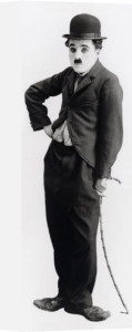 Charlie Chaplin (Tramp) by Anonymous