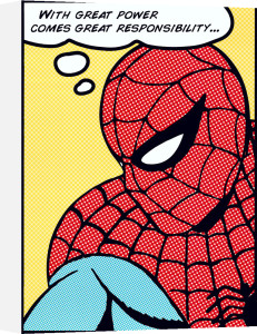 Spider-man (Pop Art) by Marvel Comics