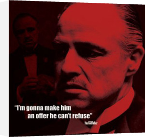 The Godfather (I.Quote) by Celebrity Image