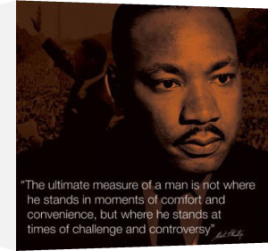 Martin Luther King Jr (I.Quote) by Celebrity Image
