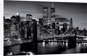 Brooklyn Bridge (B&W) by Maxi