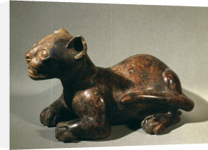 Feline, ceramic by Anonymous