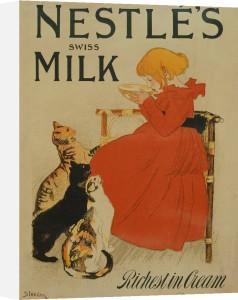 Nestles Milk by Theophile-Alexandre Steinlen