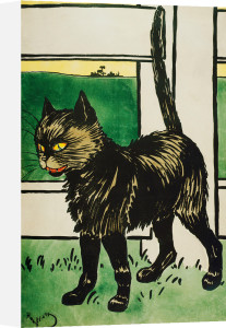 Black Cat, c.1900 by Harry Eliott