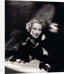 Marlene Dietrich by William Walling Jr.