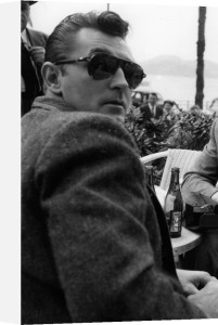 Robert Mitchum by Bob Hawkins