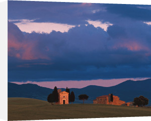 Chapel of San Quirico d'Orcia, Tuscany, Italy by Danita Delimont