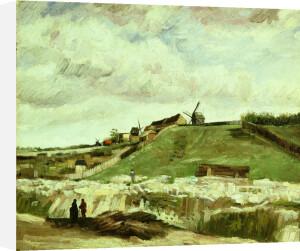 Quarry and mills at Montmartre, Paris, 1886 by Vincent Van Gogh
