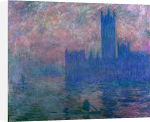 The towers of Westminster, 1904 by Claude Monet