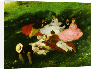 Picnic in May, 1873 by Pal Szinyei Merse