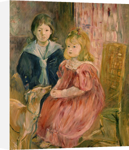 Les enfants de Gabriel Thomas by Berthe Morisot
