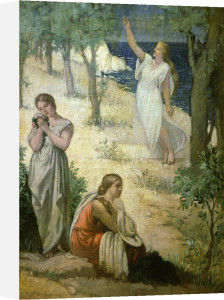The Muses of Poetry by Pierre Puvis de Chavannes