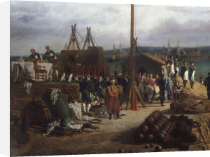 Napoleon I and Empress Marie Louise by Louis-Philippe Crépin