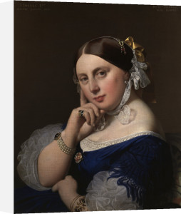Portrait of Mme Ingres by Jean-Auguste-Dominique Ingres