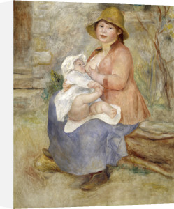 Mother's Joy by Pierre Auguste Renoir