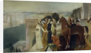 Seramis, Queen of Assyria by Edgar Degas