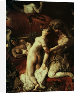 Death of Sardanapalus by Eugene Delacroix