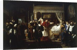 The Death of Raphael by Pierre-Nolasque Bergeret