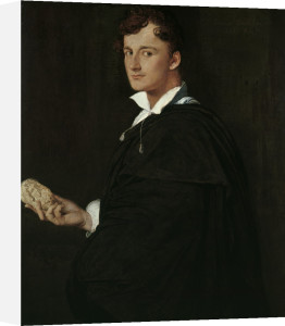 Portrait of Lorenzo Bartolini by Jean-Auguste-Dominique Ingres