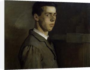 Self-portrait (I) by Ferdinand Hodler