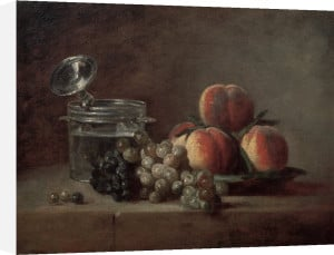 The Crystal Bowl by Jean Baptiste Chardin