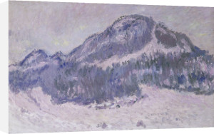 Mount Kolsaas in Norway by Claude Monet