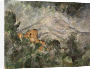Montagne Sainte-Victoire and Château Noir by Paul Cezanne