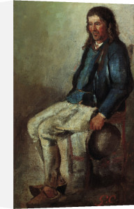 Peasant by Gustave Courbet