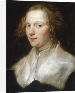 Portrait of a young woman by Sir Anthony Van Dyck