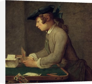 Building a House of Cards by Jean Baptiste Chardin