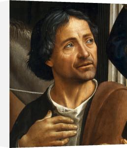 Adoration of the Shepherds (detail II) by Domenico Bigordi Ghirlandaio