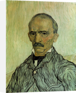Portrait of Trabuc, the head warden at the hospital Saint-Paul by Vincent Van Gogh