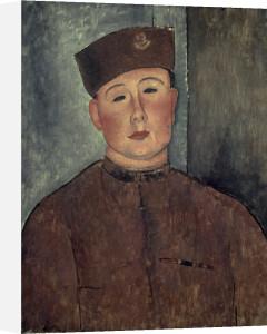 The Zouave by Amedeo Modigliani