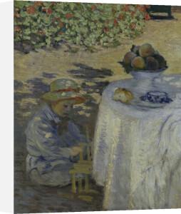 Le Déjeuner (detail 2) by Claude Monet