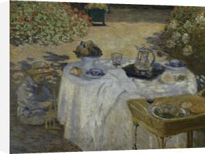 Le Déjeuner (detail 3) by Claude Monet
