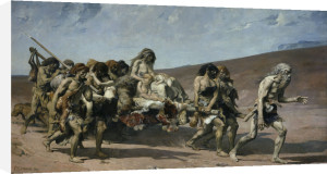 The Flight of the Cainites by Fernand Cormon