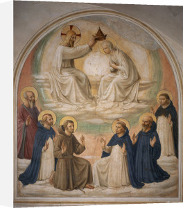 Coronation of the Virgin by Attributed to Fra Angelico