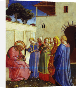 Naming of John the Baptist by Attributed to Fra Angelico
