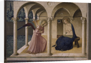 Annunciation to Mary by Attributed to Fra Angelico