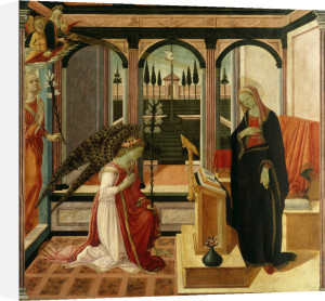 Annunciation to Mary by Filippino Lippi
