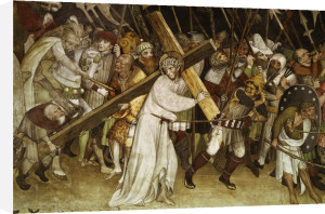 Christ carrying the Cross by Jaquerio Giacomo