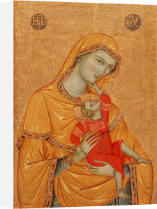 Madonna and Child by Master of the Madonna of Perugia