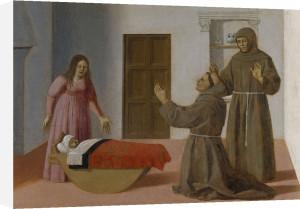 Saint Antony of Padua by Piero Della Francesca