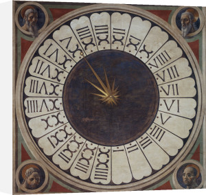 Canonic Clock by Paolo Uccello