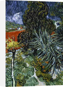 The garden of Dr Gachet in Auvers by Vincent Van Gogh
