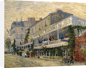Restaurant de la Sirene at Asnieres 1887 by Vincent Van Gogh