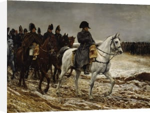 Campagne de France Napoleon (detail) by Jean-Louis Ernest Meissonier